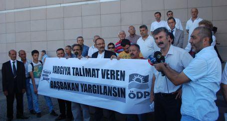 ÖDP'den Başbakan hakkında suç duyurusu