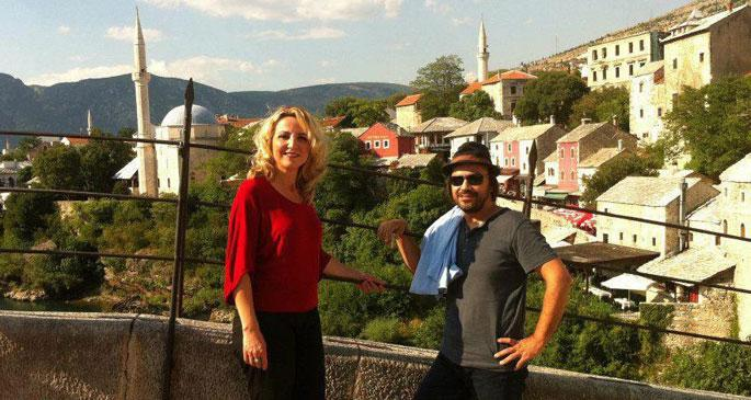 'Balkanlarda yaşamak, bir nevi dağlarla güreşmek'