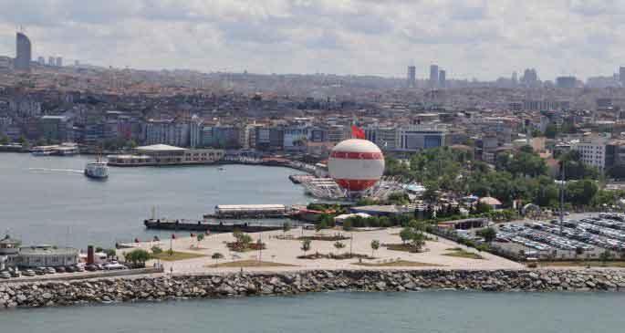 Balondan Kadıköy\