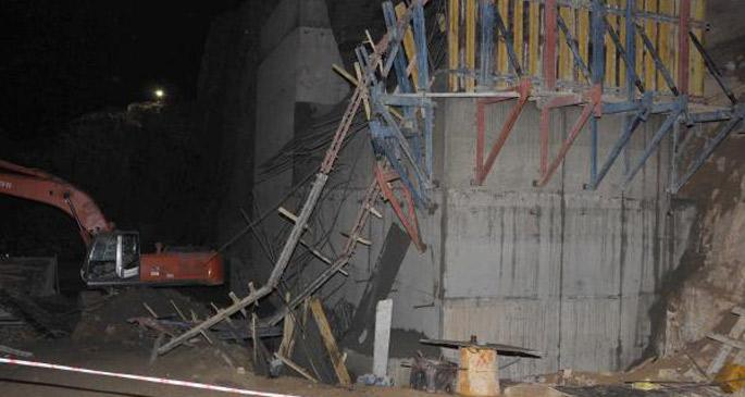 Baraj inşaatı çöktü: 2 işçi öldü