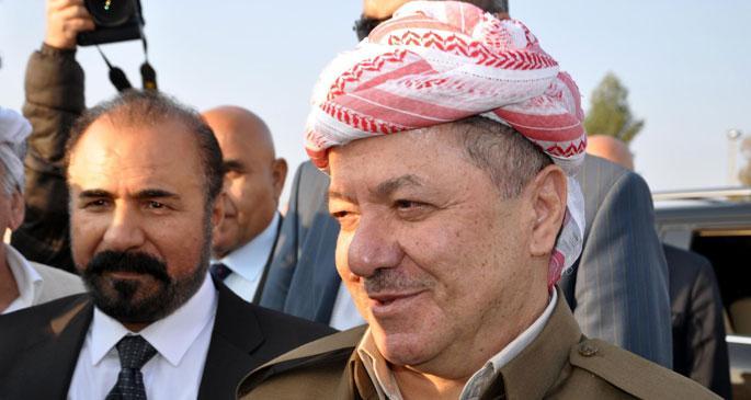 Barzani ve Perwer sınırdan giriş yaptı