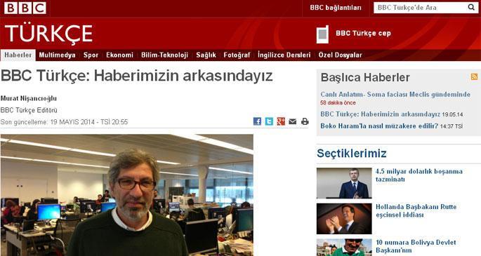 BBC: Madenci yakını haberimizin arkasındayız