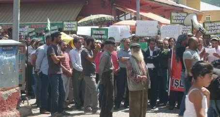 Siyanürcüler Dersim'de köy peşinde