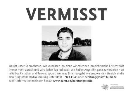 Almanya, 'Kayıp' kampanyasını durdurdu