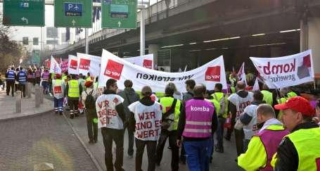 'Adil Paylaşım' için eylem günü