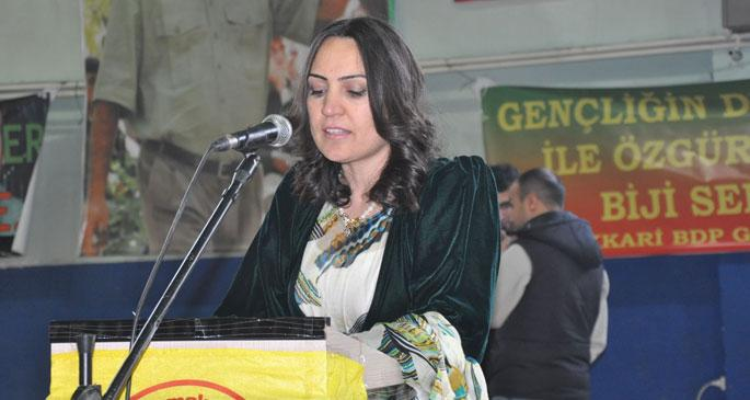 BDP\'nin Hakkari adayı Dilek Hatipoğlu