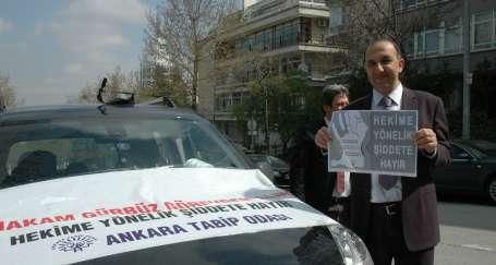 Hekimlerden şiddete karşı konvoylu tepki