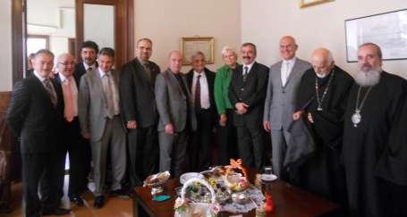 HDK'dan, Ermeni Patrikhanesine Paskalya ziyareti
