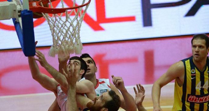 Beko Basketbol Ligi\'nde ilk finalist Fenerbahçe Ülker