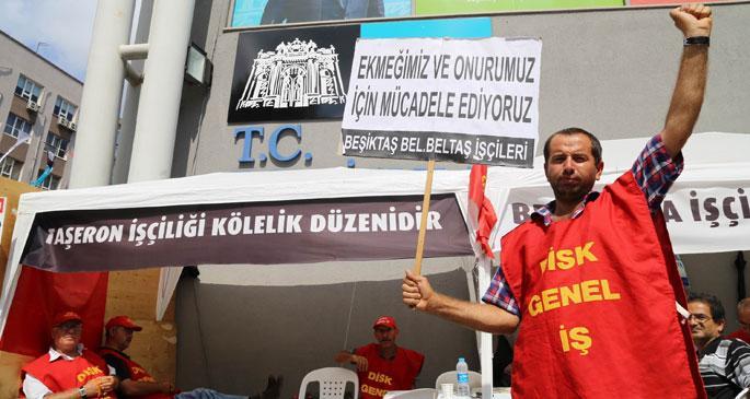 BELTAŞ işçileri direniş çadırını grev çadırına çevirecek