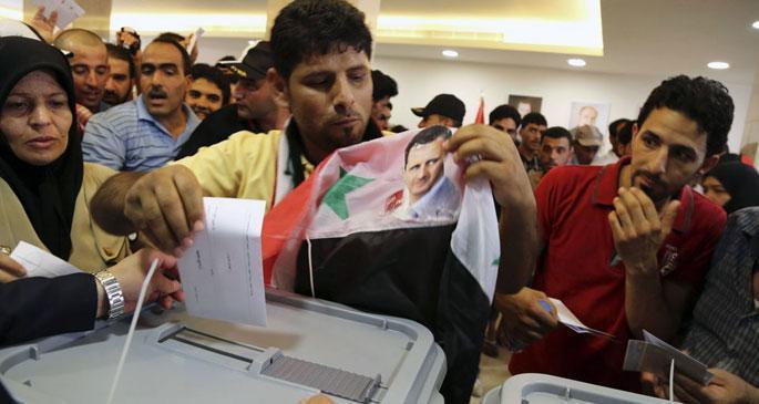 Beşar Esad yeniden devlet başkanı seçildi