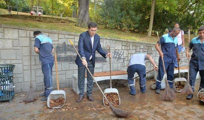 Beşiktaş belediye başkanından grev kırıcılığı