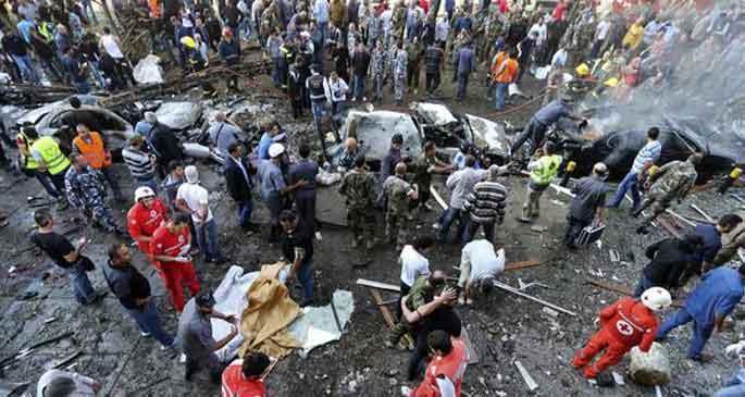 Beyrut\'ta İran Büyükelçiliği\'ne saldırı: 23 ölü 146 yaralı