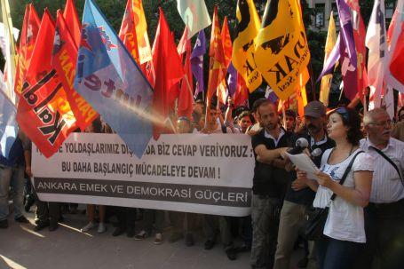 Ankara'da 13 kişi tutuklandı