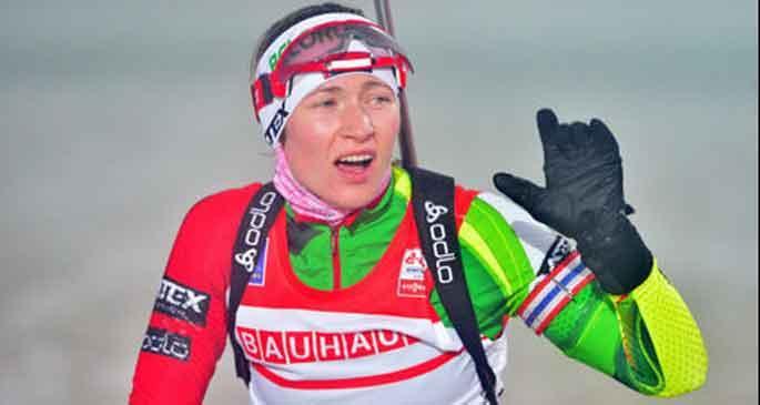 Biatlonda Svendsen ve Domracheva zirvede