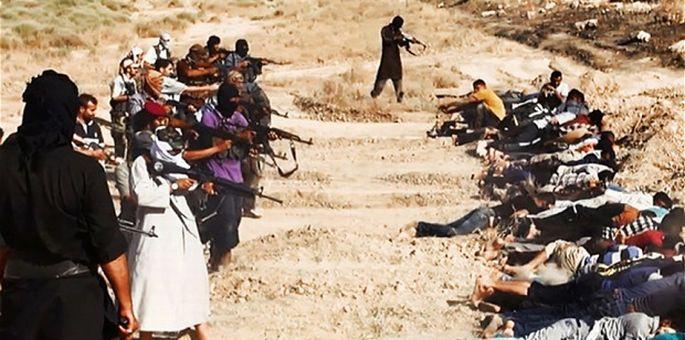 BM: IŞİD, 670 Şii tutukluyu kurşuna dizdi