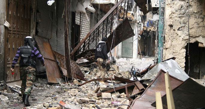 BM Suriye'deki  kimyasalı doğruladı