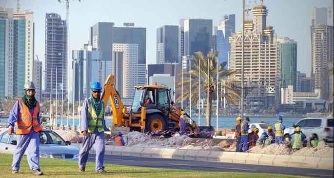 BM'den Katar'a 'işçi haklarına saygı göster' uyarısı