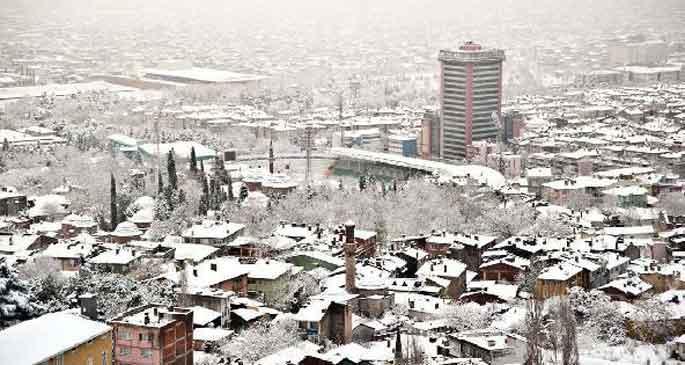 Bursa\'da 61 köy yolu ulaşıma kapalı