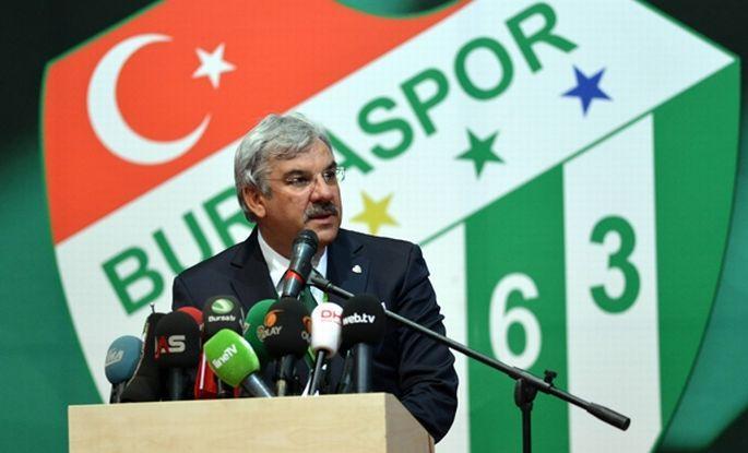 Bursaspor'da yeni başkan seçildi