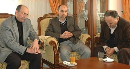 Tüzel'den acılı aileye ziyaret