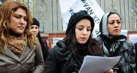 Van'da 17 Kadın örgütü ortak açıklama yaptı