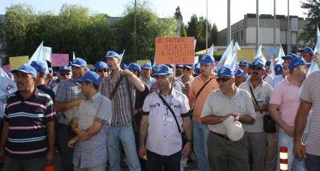 PETKİM işçileri fabrikaya kapandı