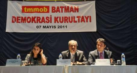 TMMOB Batman Yerel Demokrasi Kurultayı sonuç bildirgesi açıklandı