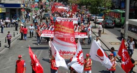 DİSK İstanbul Temsilciler Kurulu toplandı