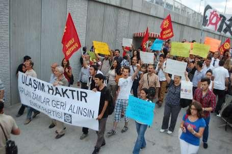 EMEP zamları protesto etti