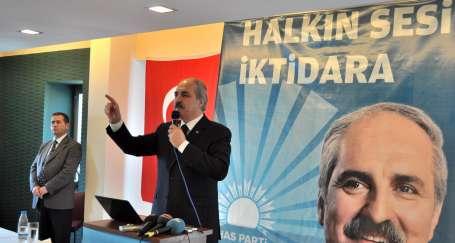 HAS Partinin İstanbul adayları Kurtulmuş, Bekaroğlu ve Kılıçaslan
