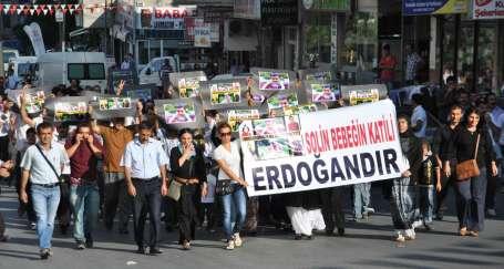 BDP ve EMEP operasyonlara karşı yürüdü
