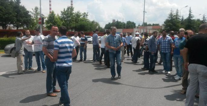 Cam grevinde 4. gün; Grev kırıcılığına karşı nöbet sürüyor