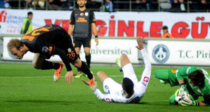 Çaykur Rizespor- Galatasaray: 1-1