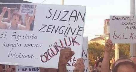 Gazeteci Suzan Zengin serbest