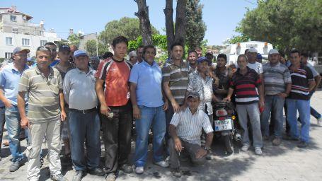 Ayvalık Belediyesi'nde taşeron işçiler iş bıraktı