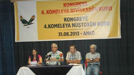 Kürt Yazarlar Derneği kongresi başladı