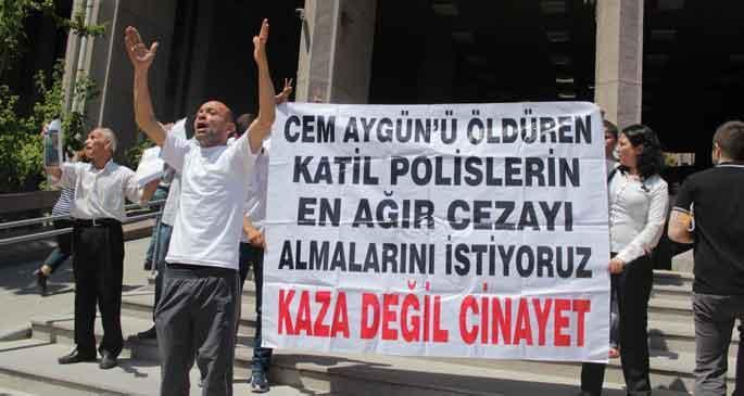 Cem Aygün'ü vuran polisin raporu mahkemede