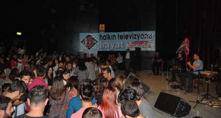 Erzincan'da Hayat Televizyonu ile dayanışma gecesi