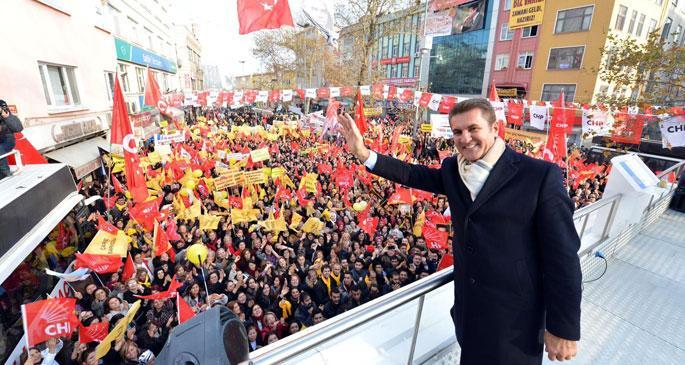 CHP'nin İstanbul adayı Mustafa Sarıgül