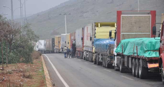 Cilvegözü Sınır Kapısı araçlara açıldı