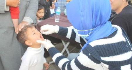 Çocuk felcinin tek nedeni Suriye değil!