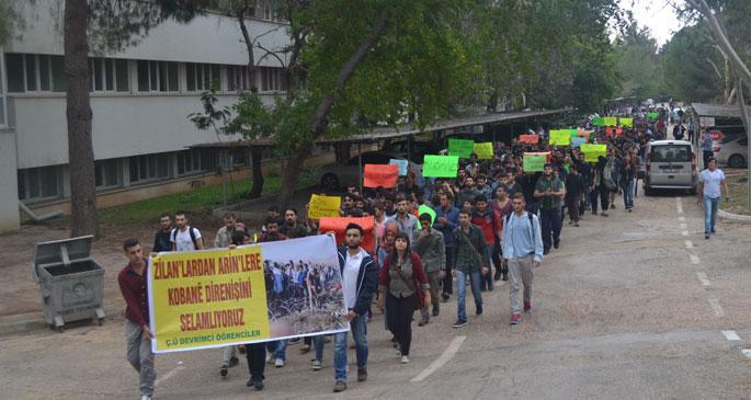Çukurova Üniversitesi\'nde öğrenciler YADİM'i işgal etti