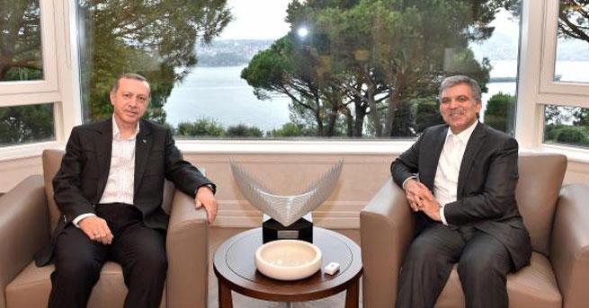 Cumhurbaşkanı Erdoğan\'dan Abdullah Gül'e ziyaret