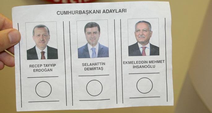 Cumhurbaşkanı seçimi için oy pusulaları basıldı