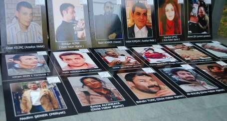 Tutuklu gazetecilere 'özgürlük' istediler
