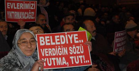 'Sadece tapumuzu değil  kentimizi de koruyacağız'