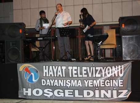 Antalya'da Hayat TV ile dayanışma yemeği