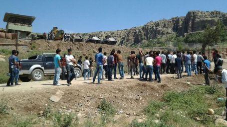Köyde karakol isyanı