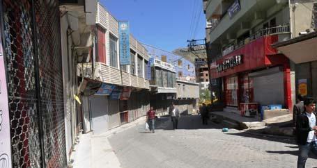 Şırnak da Başbakana kapalı